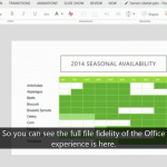 "Microsoft shows off early demo of ""Modern"" Office for WinRT"