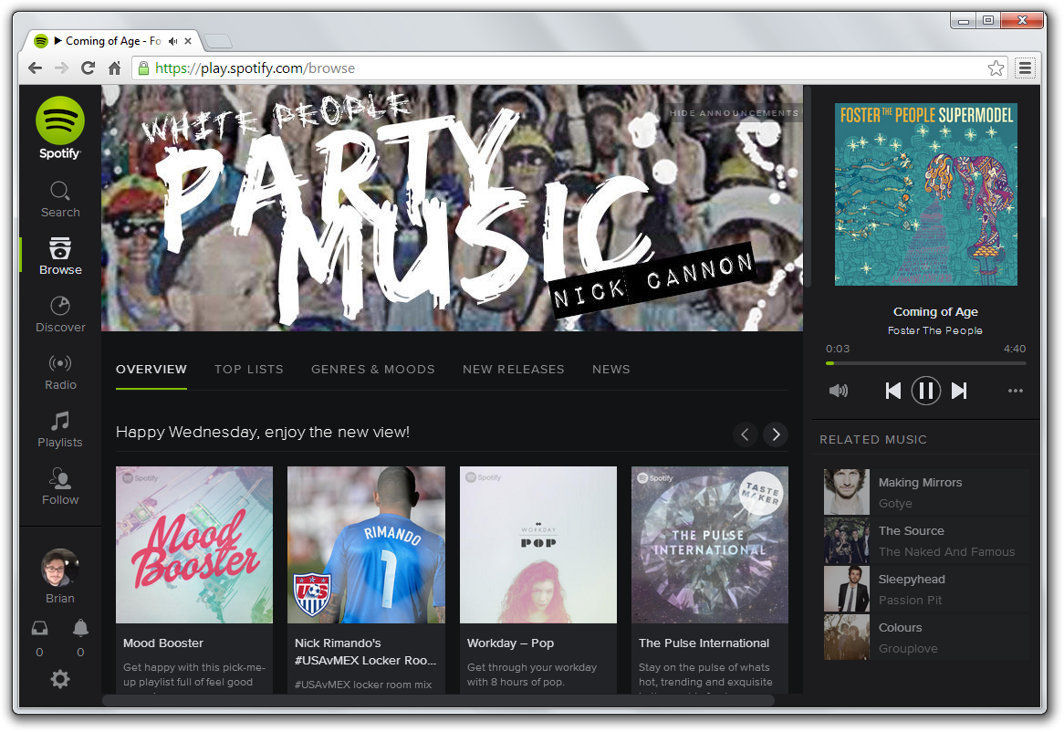 spotify-web-redesign