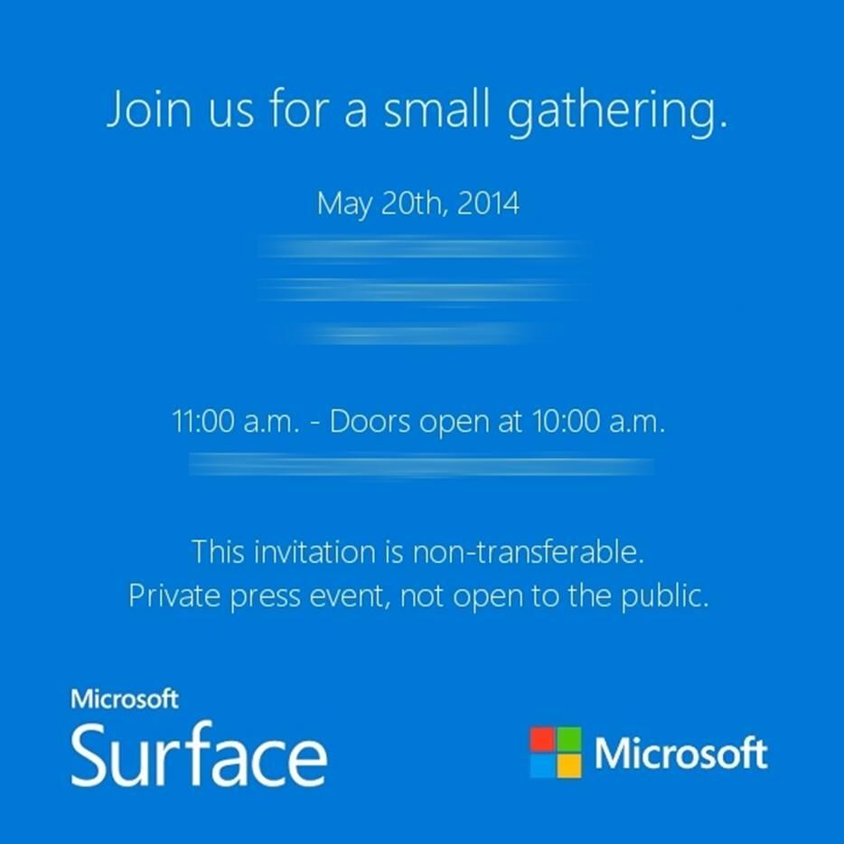 microsoft sending out invitations to a small surface gathering microsoft sending out invitations to a small surface gathering haverzine