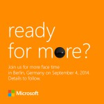 Microsoft to hold their first Lumia Special Event on September 4th