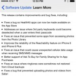 Apple releases iOS 8.0.1 for all iDevices