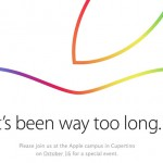 Apple announces October 16th Special Event