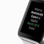 What to (mostly) realistically expect at Monday's Apple Watch event
