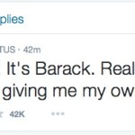 President Obama finally given his own Twitter account